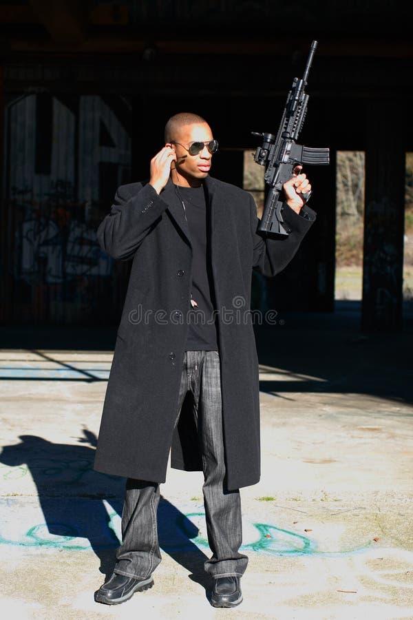 винтовка человека штурма стоковые изображения