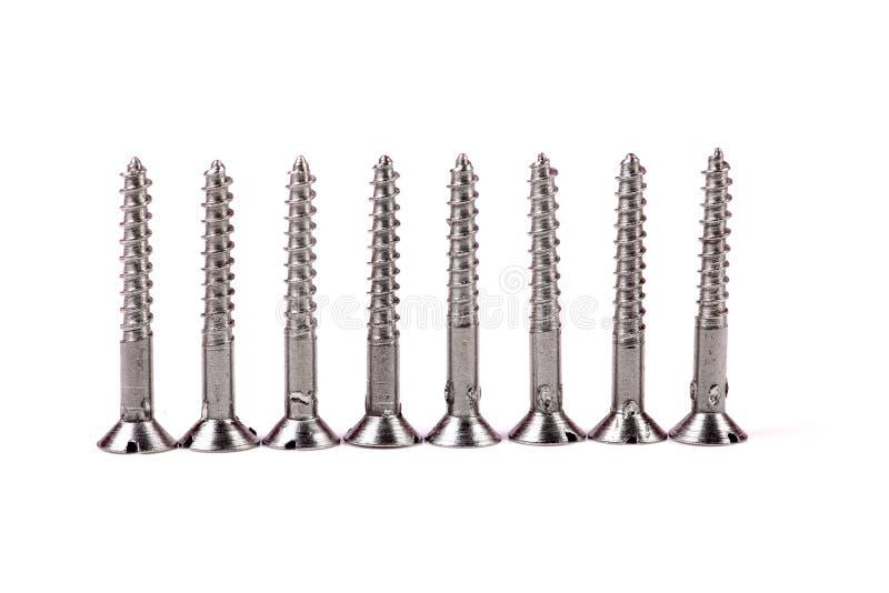 Винты металла стоковая фотография rf