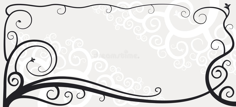 виньетка 03 иллюстрация вектора