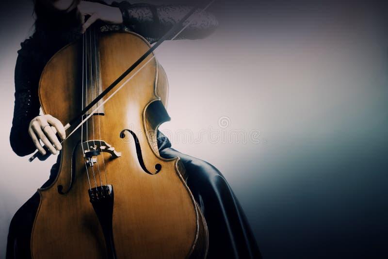 Виолончель музыкальных аппаратур стоковые фотографии rf