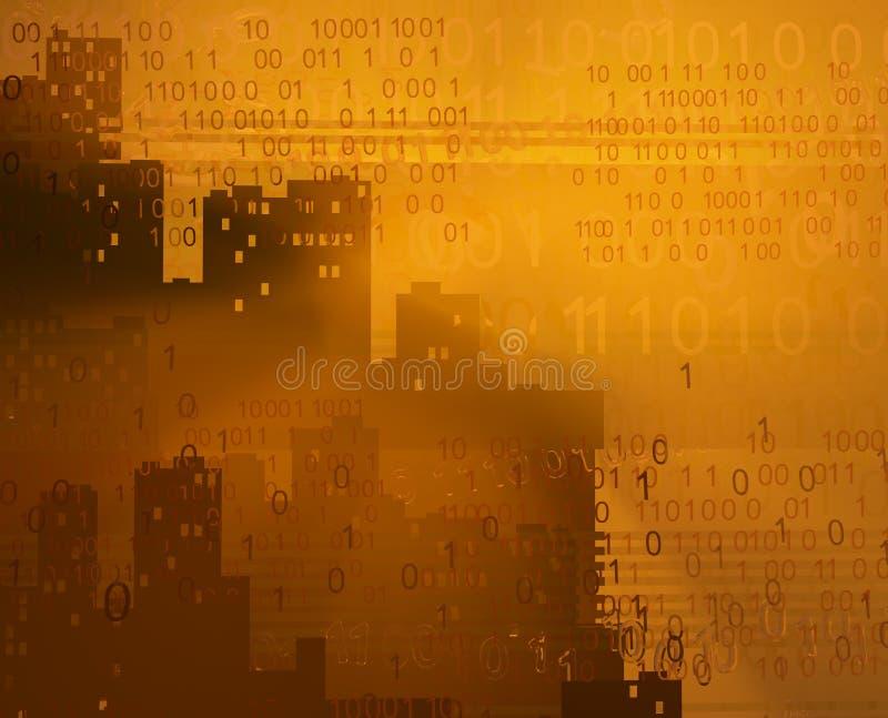 Виртуальные башни города бесплатная иллюстрация