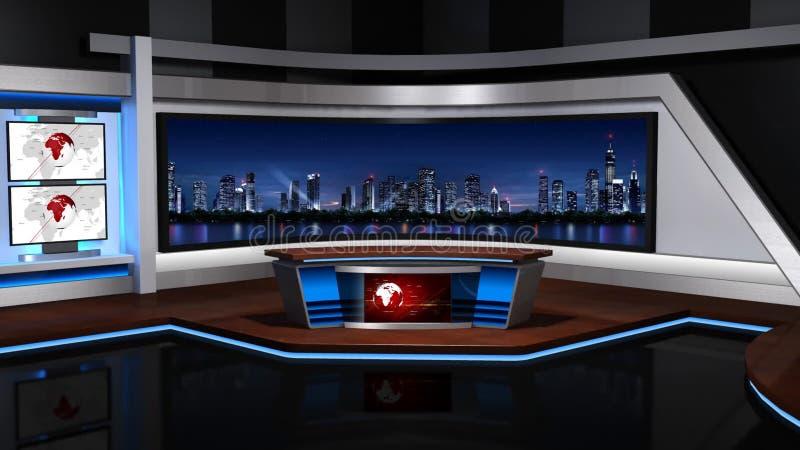 Виртуальное studio_057 иллюстрация штока