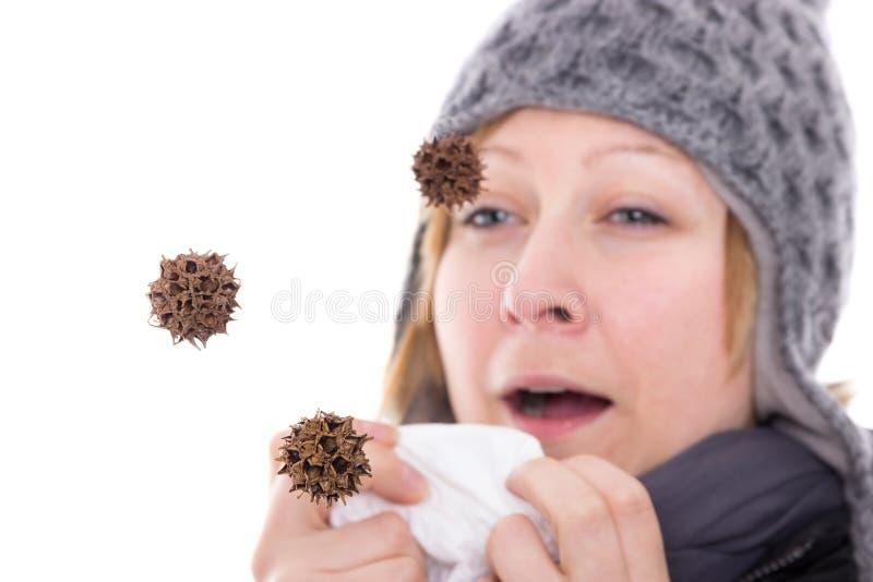Вирус в воздухе стоковое фото