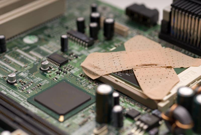 вирус компьютера стоковое изображение