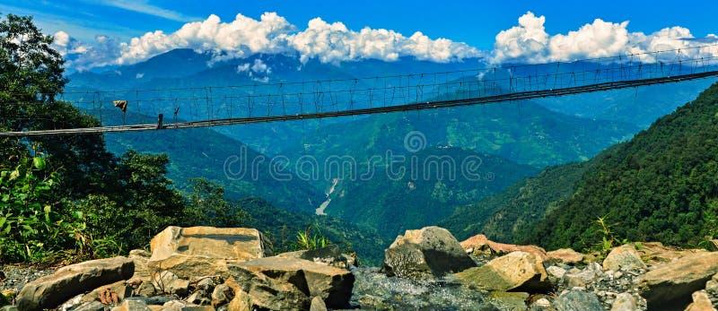 висеть моста стоковое фото rf