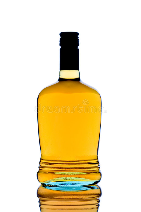виски бутылки стоковое фото rf
