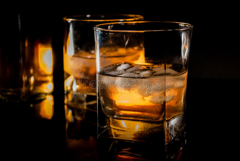 Виски или бербон стоковое изображение rf