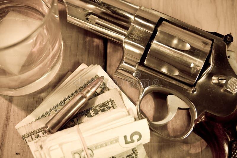виски пушки стоковое фото rf