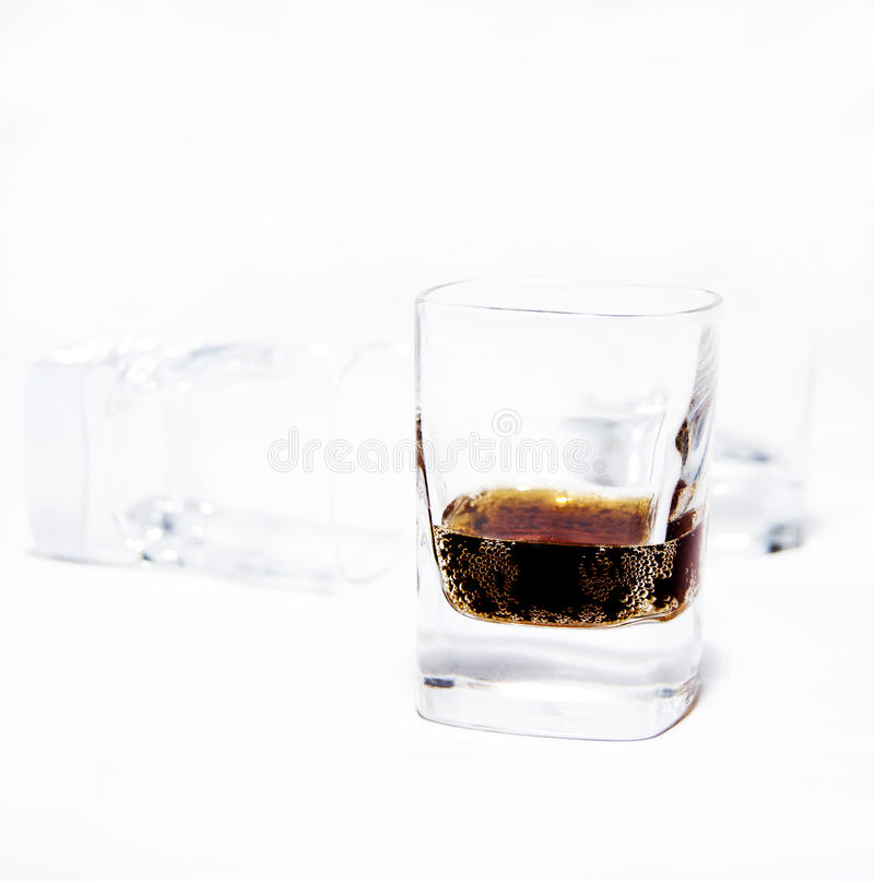 виски стекел стоковые фото
