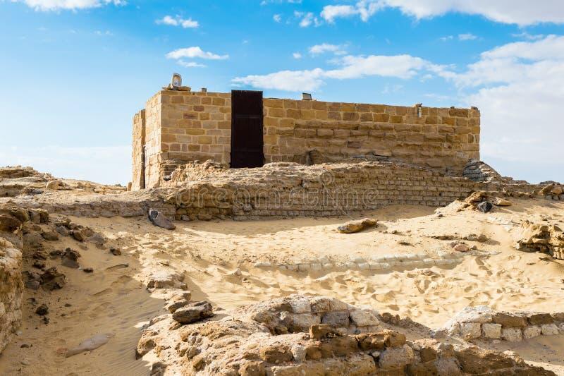 Висок Александра Македонского, Египта стоковая фотография