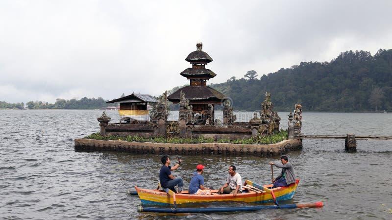 Висок Бали, Индонезии 28-ое июня 2018 - Pura Ulun Danu Beratan стоковые фото