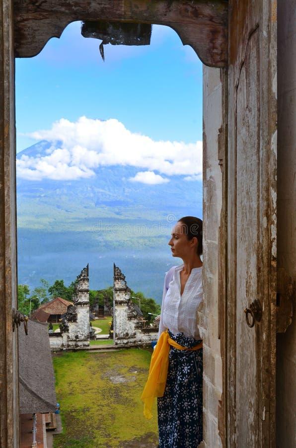 Висок Бали Индонезия Pura Luhur Lempuyang стоковое изображение