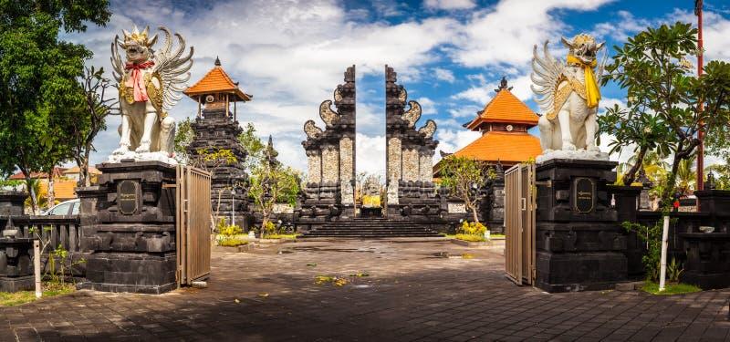 Висок Бали hindy стоковое фото