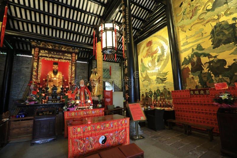 Висок #11 бога города Гуанчжоу - историческая достопримечательность Гуанчжоу - Гуандун - Китай стоковые фото