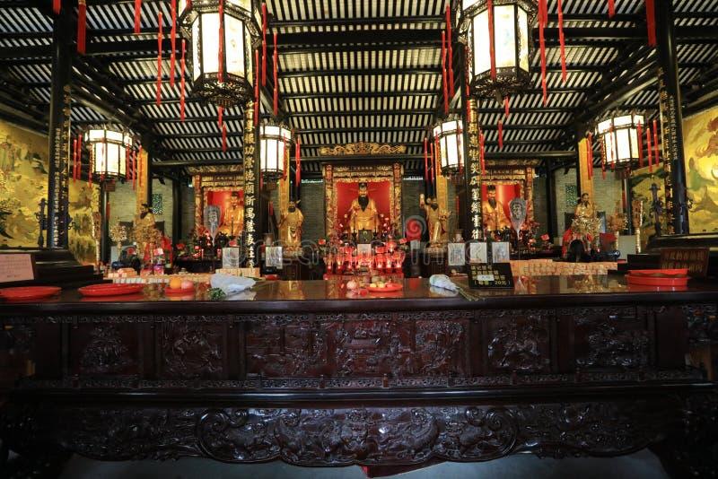Висок #13 бога города Гуанчжоу - историческая достопримечательность Гуанчжоу - Гуандун - Китай стоковые изображения
