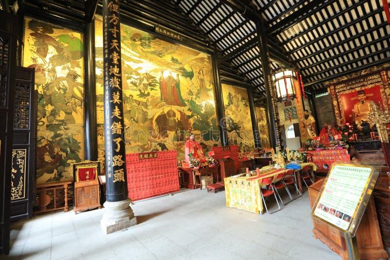 Висок #14 бога города Гуанчжоу - историческая достопримечательность Гуанчжоу - Гуандун - Китай стоковые изображения rf