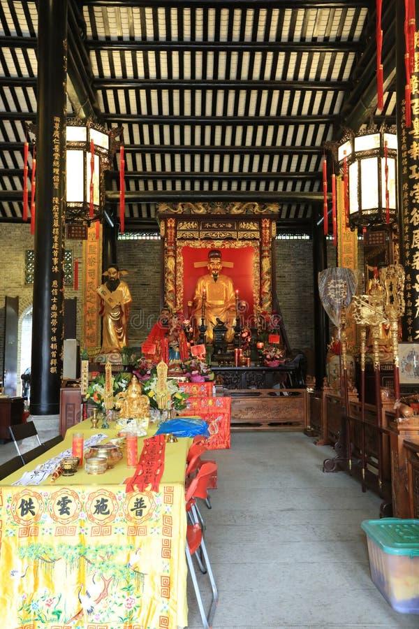 Висок #15 бога города Гуанчжоу - историческая достопримечательность Гуанчжоу - Гуандун - Китай стоковое фото