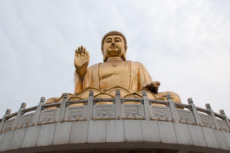 висок Будды chongqing huayan стоковое изображение