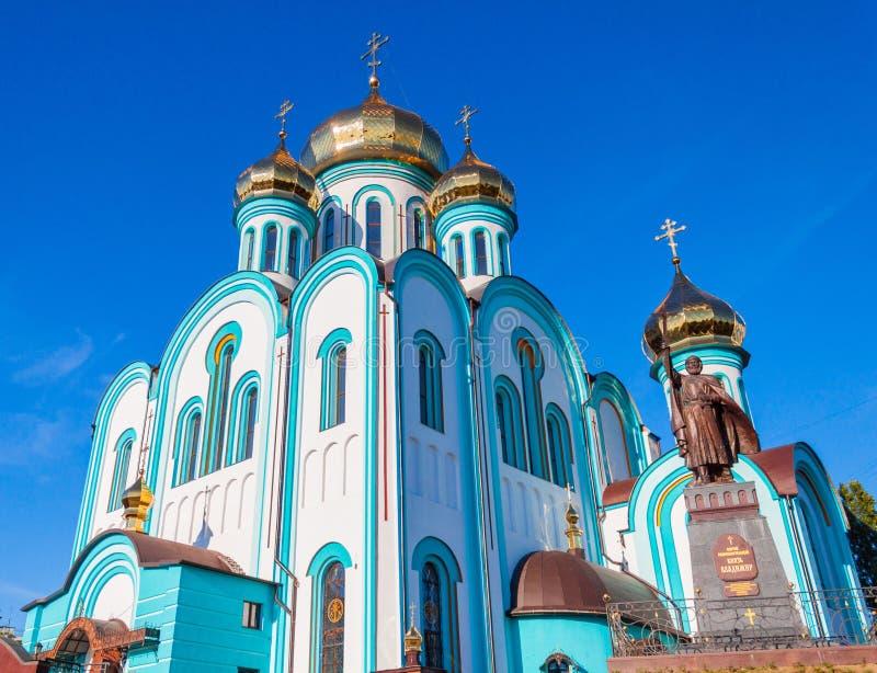 Висок Владимира города Харькова стоковое фото