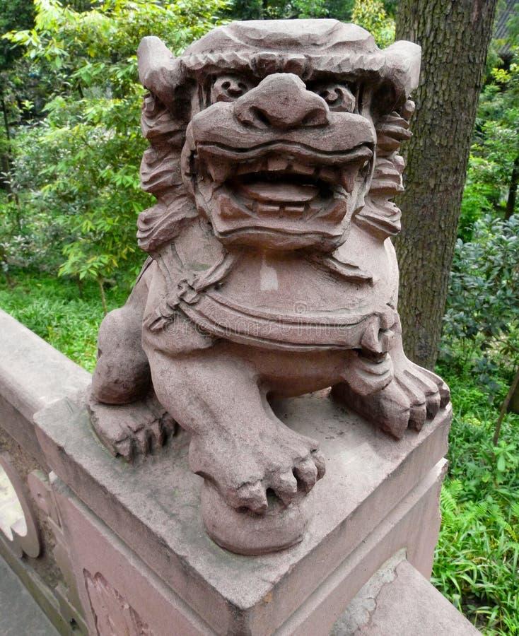 Висок в городе Guiyang, Китая стоковые изображения rf