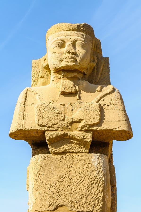 Висок в Луксоре, Египет Karnak. стоковые изображения rf