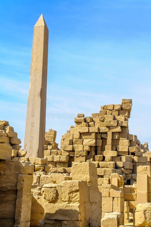 Висок в Луксоре, Египет Karnak. стоковая фотография rf