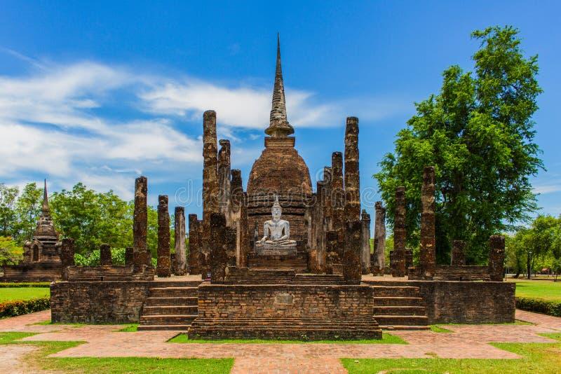 Висок в парке Таиланде Sukhothai историческом стоковое изображение rf