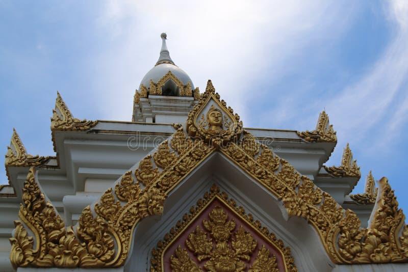Висок в провинции Sukothai, Таиланде стоковая фотография