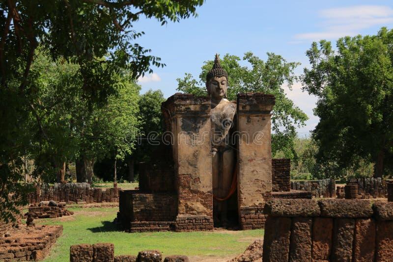 Висок в провинции Sukothai, Таиланде стоковое изображение