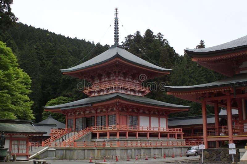Висок в Японии стоковая фотография