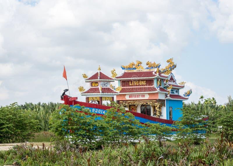 Висок в Hoi, Вьетнаме стоковое фото rf