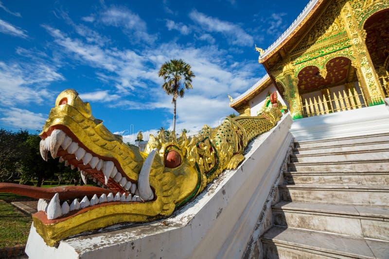 Висок в Luang Prabang стоковые фото