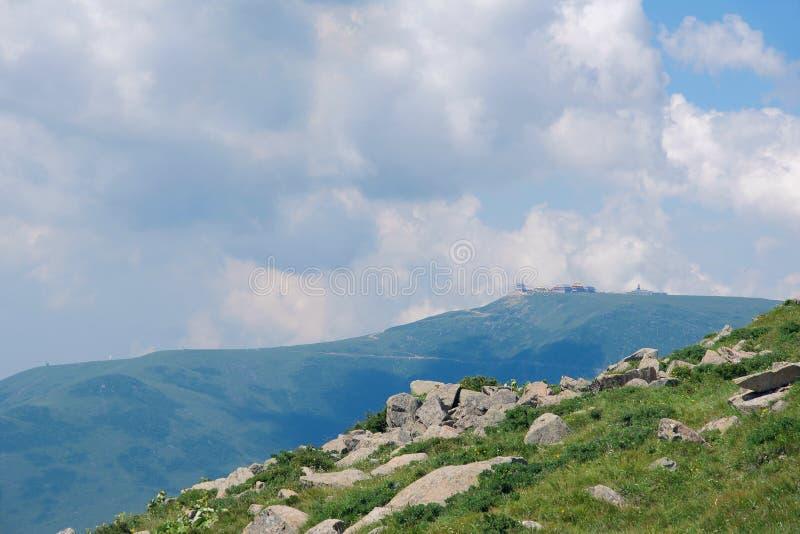 висок горы стоковые изображения