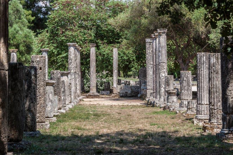 Висок Греция Олимпии стоковое фото rf
