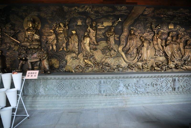 Висок 4 - Гуанчжоу - Китай Гуанчжоу большой Будды стоковое изображение