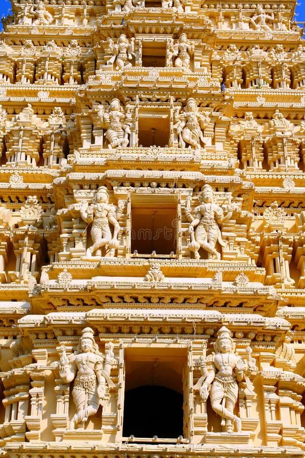 висок дворца mysore стоковое фото rf