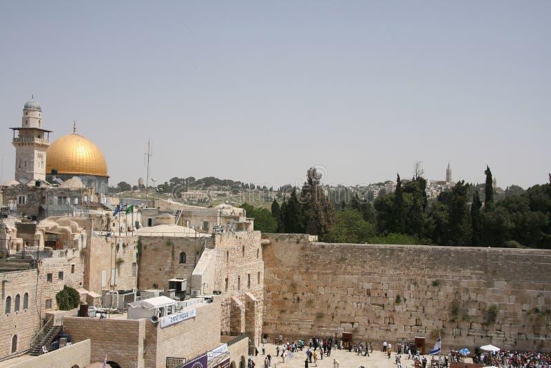 висок держателя Иерусалима стоковое фото rf