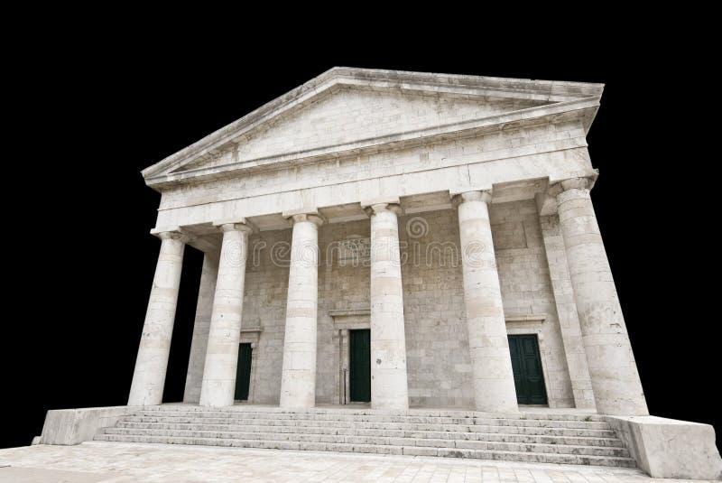 висок древнегреческия стоковые изображения