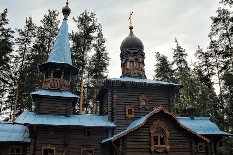 Висок значка Konevskaya матери бога стоковые изображения rf
