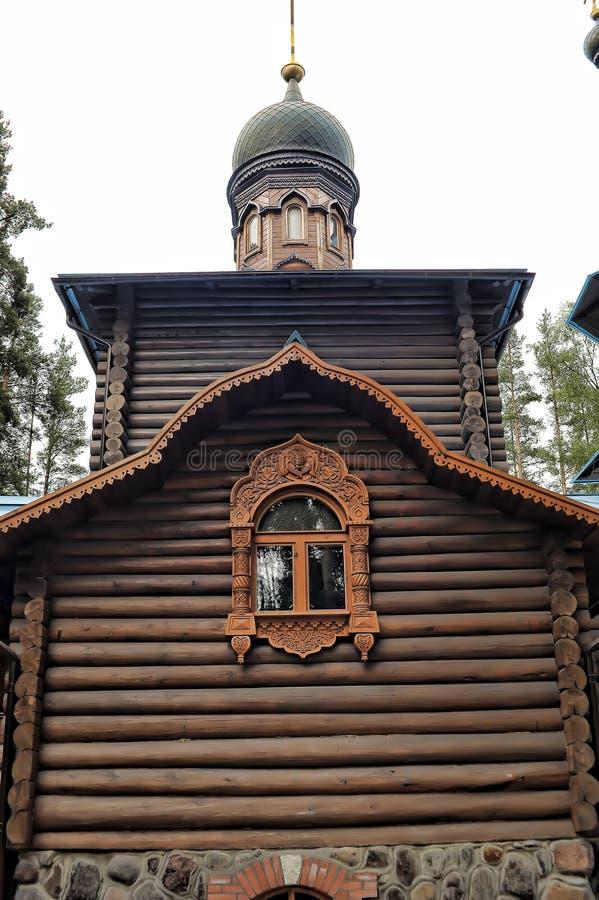 Висок значка Konevskaya матери бога стоковые фото