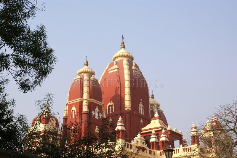 висок Индии hinduism delhi стоковое изображение
