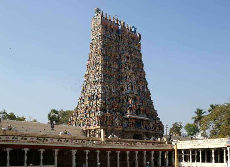 висок индусского meenakshi Индии madurai южный стоковая фотография rf