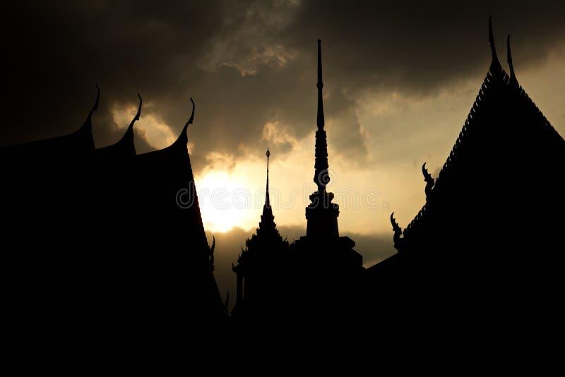 висок и пагода стоковая фотография