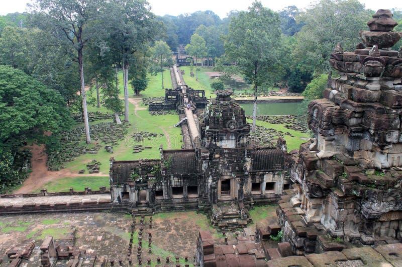 Висок Камбоджи Siem Reap стоковое фото rf