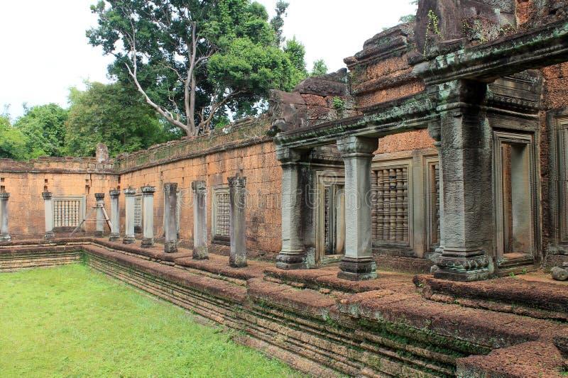 Висок Камбоджи Siem Reap Banteay Samra стоковое фото