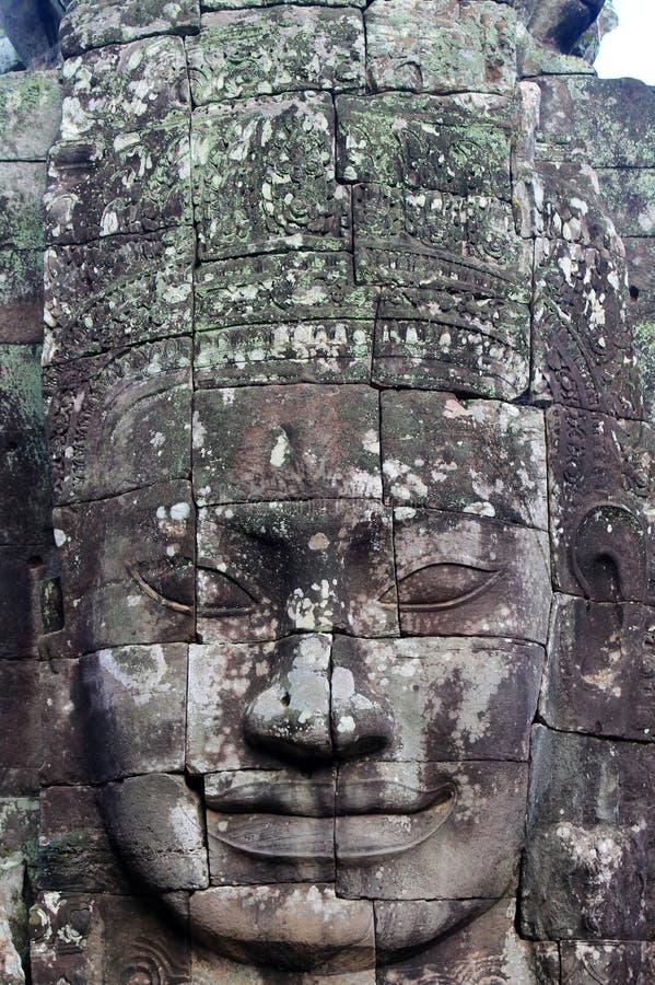 Висок Камбоджи Siem Reap Bayon стоковые фото