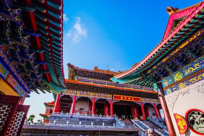 Висок Китая стоковое фото rf