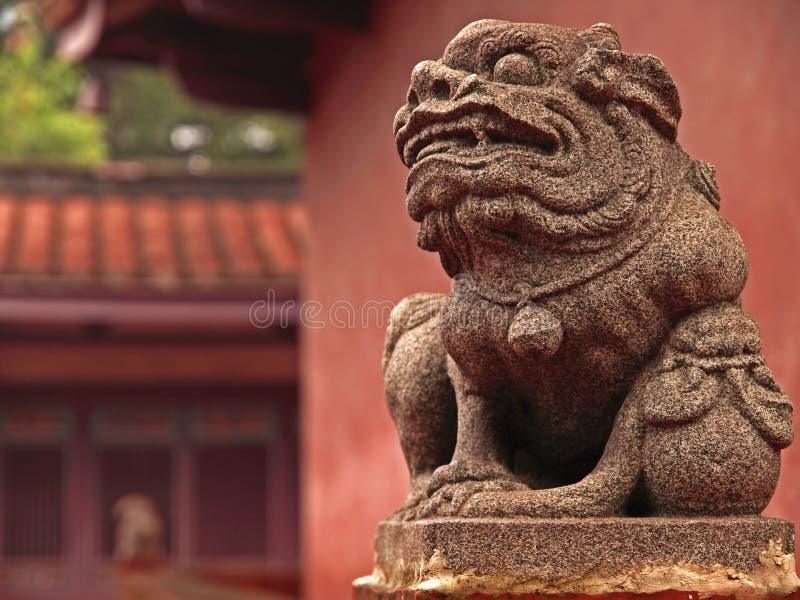 висок Конфуция tainan стоковое фото rf