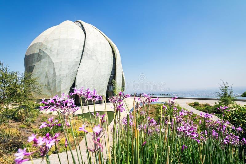 Висок молитвенного места Bahai - Сантьяго, Чили стоковая фотография rf