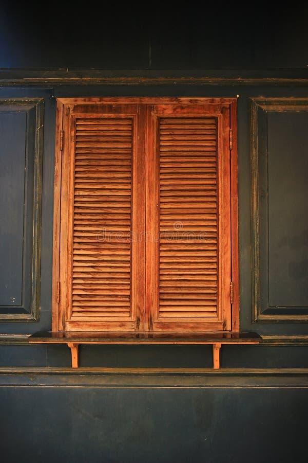 Висок окна тайский стоковая фотография